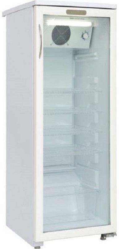 лучшая цена Холодильная витрина Саратов 501-02, однокамерная, белый