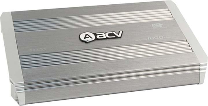 Усилитель автомобильный ACV GX-4.175, четырехканальный, 32356 усилитель acv gx 4 250