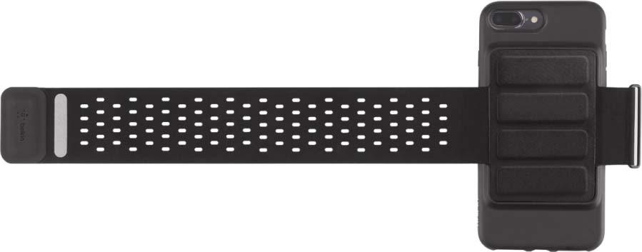 Чехол-повязка Belkin для Apple iPhone 7 Plus, F8W741DSC00-APL, черный цена и фото