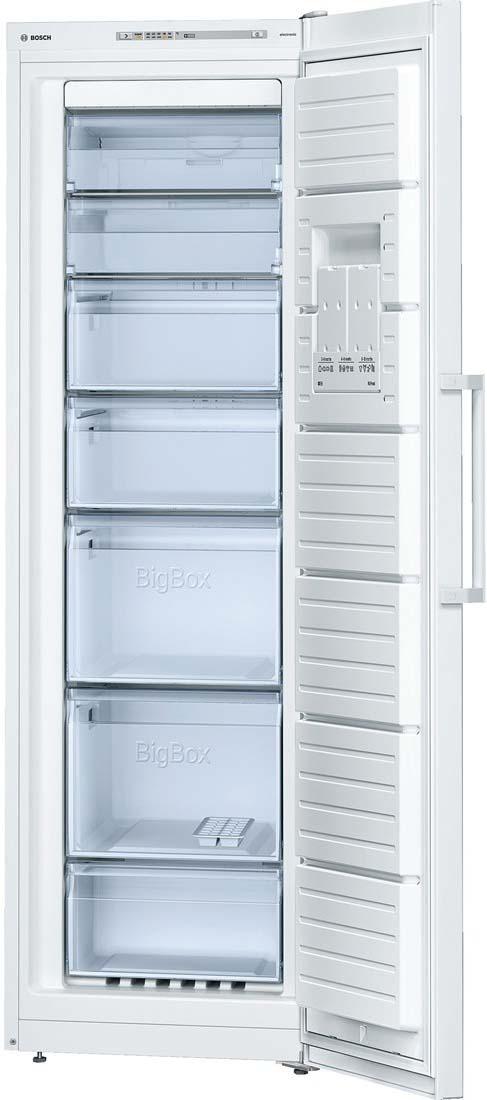 Морозильник Bosch GSN36VW21R, белый Bosch