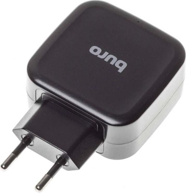 Сетоевое зарядное устройство Buro, TJ-285B сетевое зарядное устройство buro tj 285b 2 4a черный