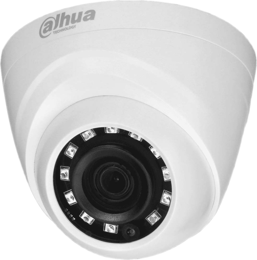 Камера видеонаблюдения Dahua, DH-HAC-HDW1000MP-0280B-S3 камера наблюдения orient ahd 940 if1b 4 mic с микрофоном купольная 4 режима ahd tvi cvi 720p 1280x720 cvbs 960h 1 4 silicon optronics 1mpx cmos