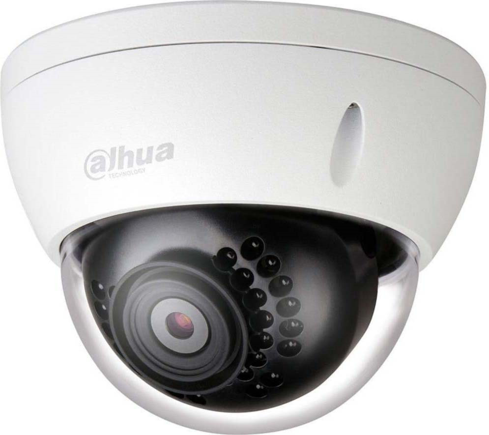 Видеокамера IP Dahua, DH-IPC-HDBW1230EP-S-0280B, белый ip камера dahua dh ipc hdw4231emp ase 0280b