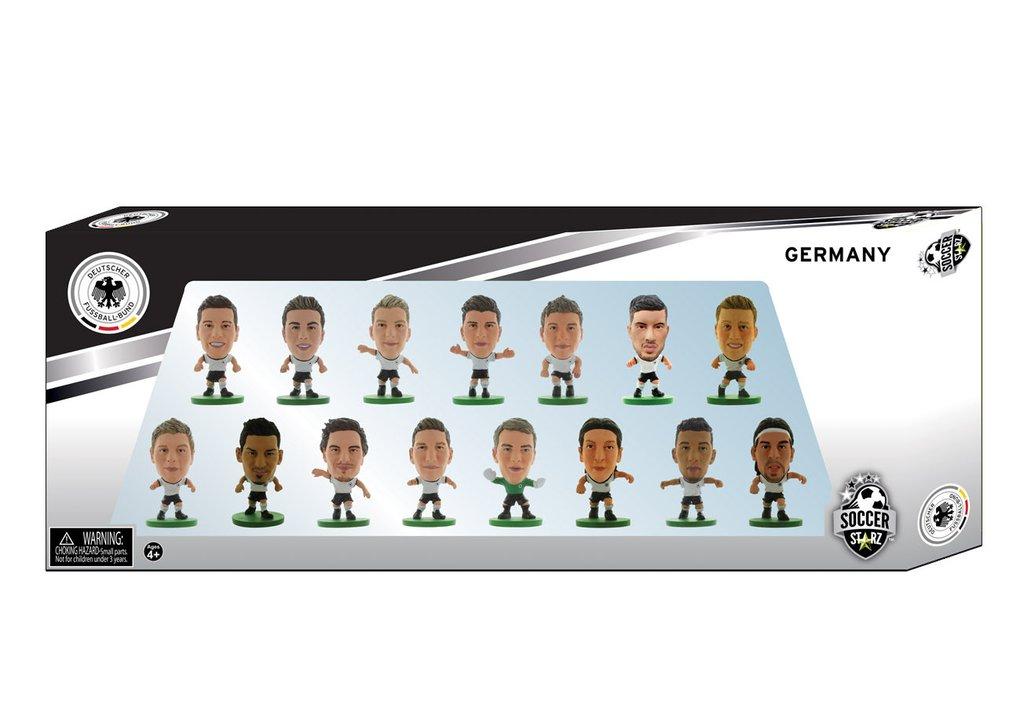 Фигурка SoccerStarz Набор футболистов Сборная Германии Germany 15 Player Team Pack 2016 Ed., 402941 цена в Москве и Питере