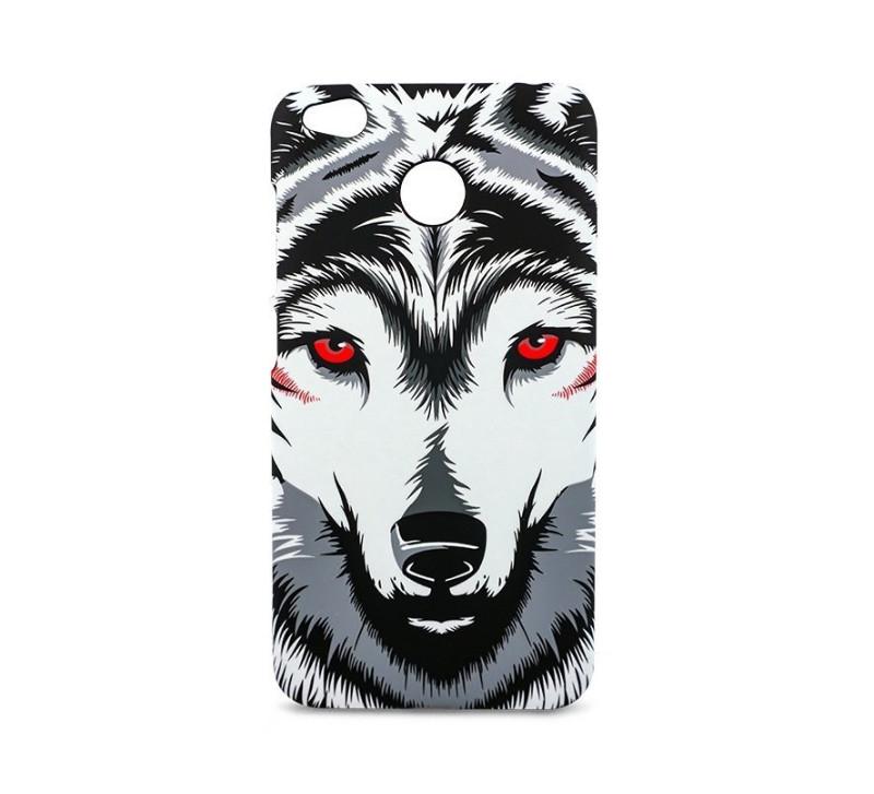 цена на Чехол для Xiaomi Redmi 4X Чехол для Xiaomi Redmi 4X Animals (Волк)