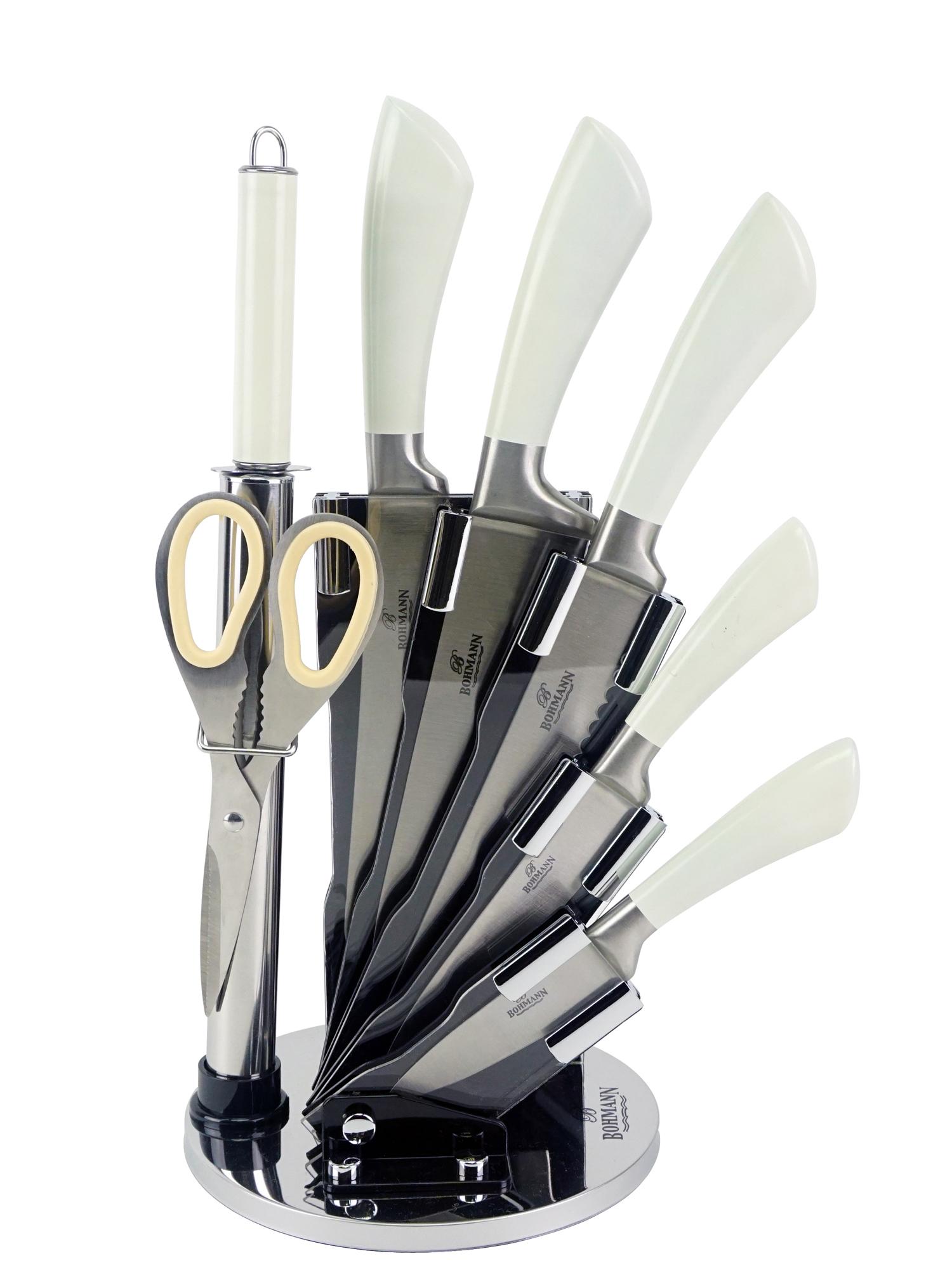 Нож столовый BOHMANN Набор ножей, светло-бежевый sharpeners кухня точило системы профессиональных нож новый исправить угол ножницы