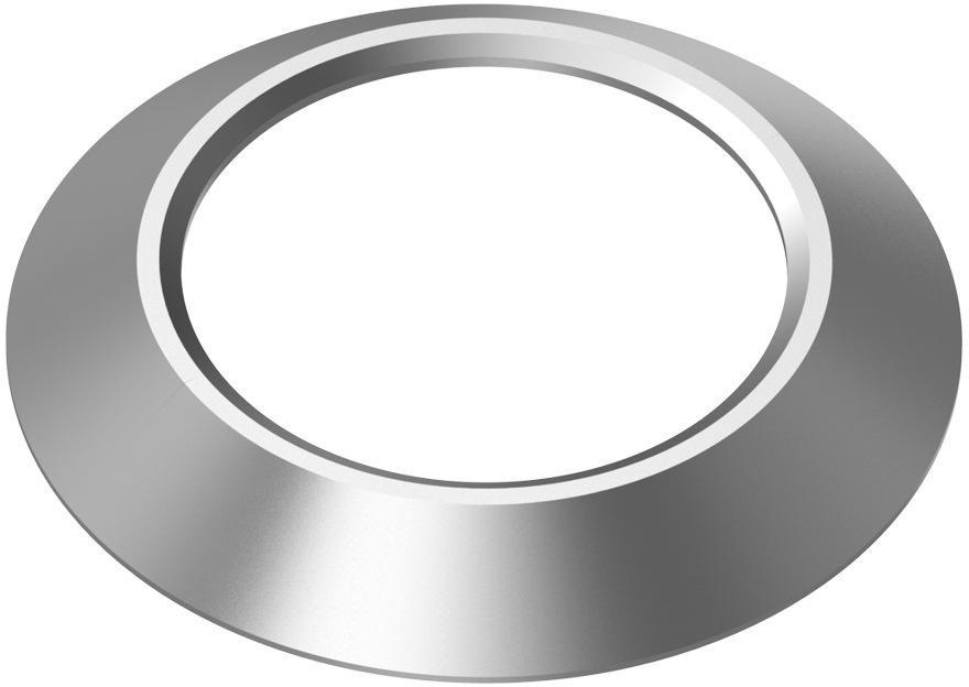Ободок для камеры телефона Baseus Metal Camera Ring, серый aluminum metal waterproof outdoor bullet ip camera 960p security camera cctv 24pcs array led board onvif camera ip