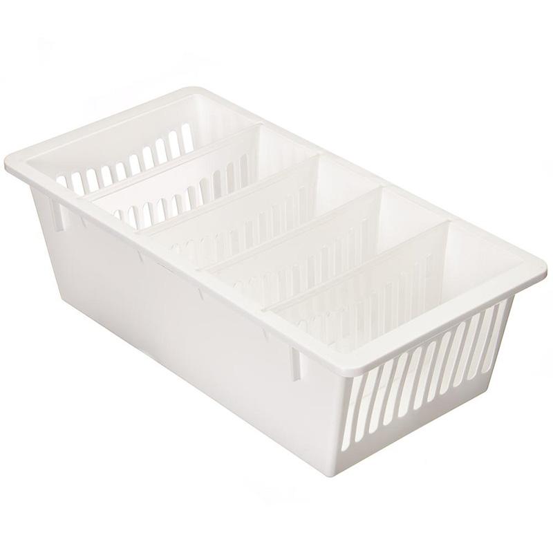 Коробка для хранения Полимербыт ДЛЯ СПЕЦИЙ (5 секций), белый контейнер для специй spicebox цвет оранжевый