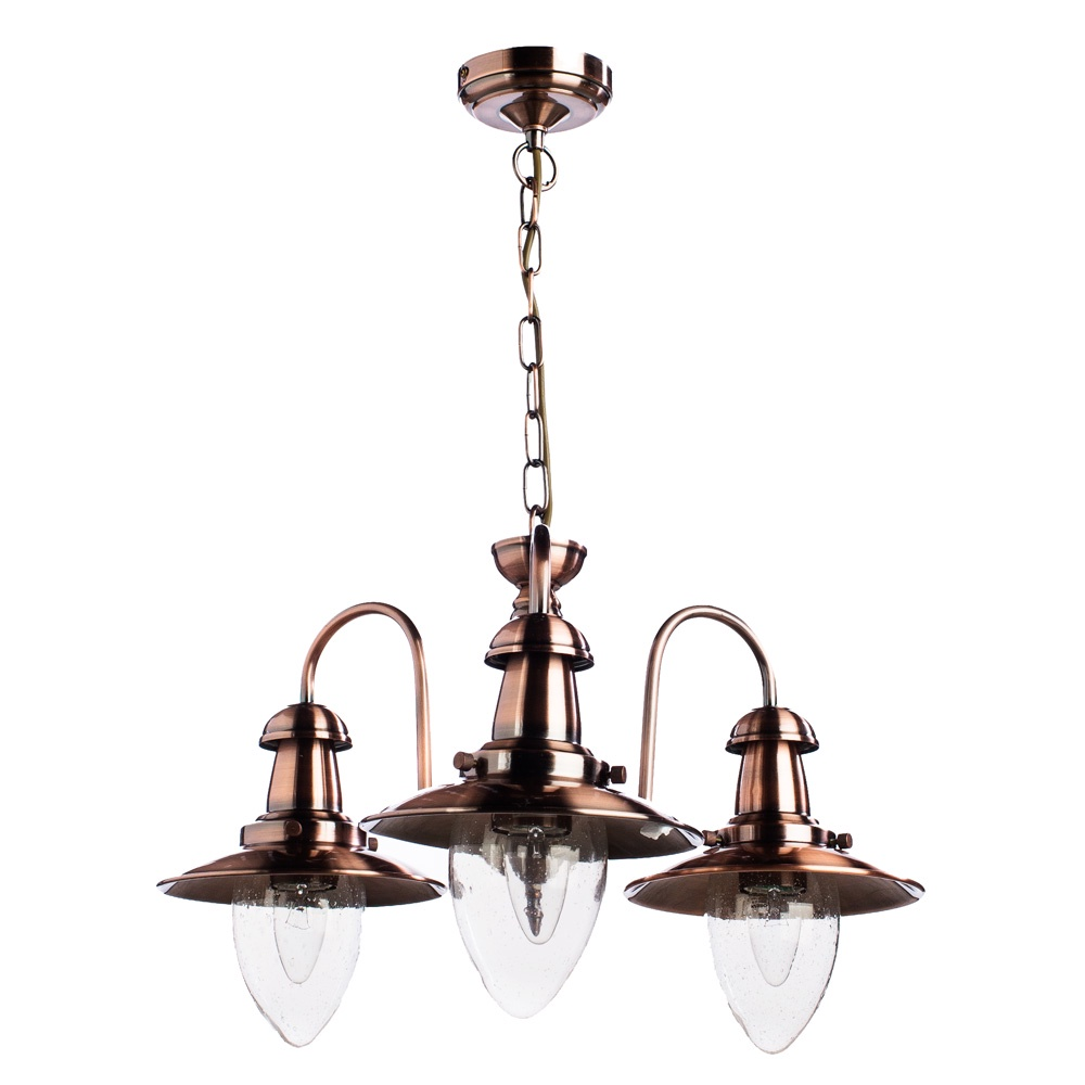 Подвесной светильник Arte Lamp A5518LM-3RB, бронза все цены