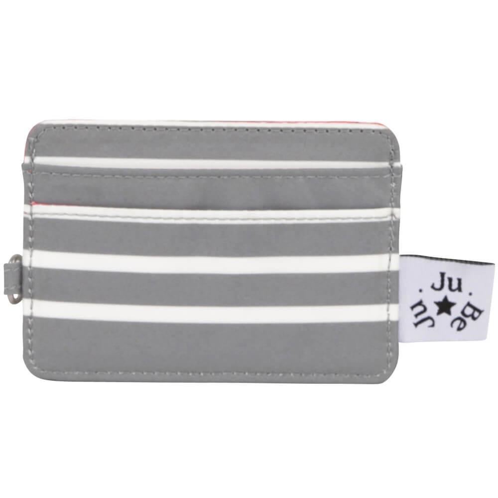 Визитница Ju-Ju-Be 16WA03P-1284, разноцветный, серый, белый визитница ju ju be be charged sweet scarlet