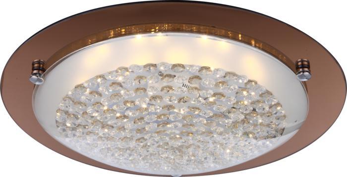 Настенно-потолочный светильник Globo New 48264, коричневый батут intex 48264