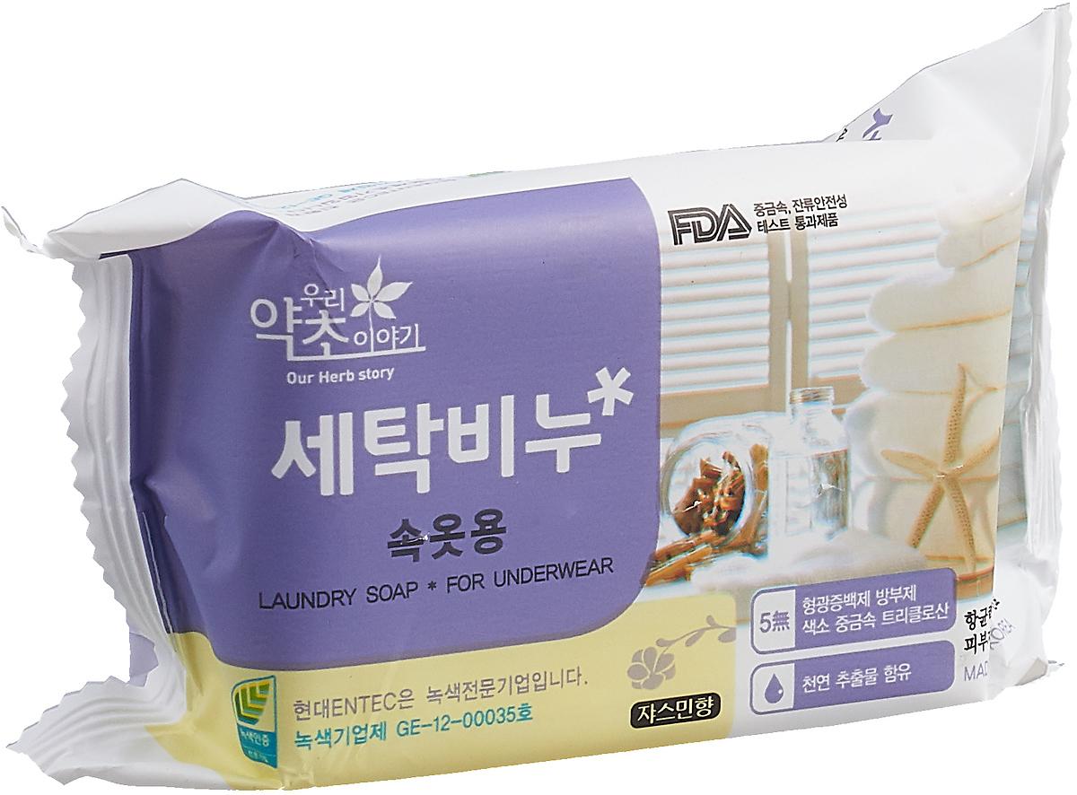 Мыло для стирки Korea Our Herb Story с экстрактом жасмина, 200 г цена