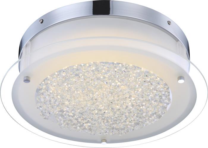 Настенно-потолочный светильник Globo New 49315, LED, 18 Вт globo потолочный светильник globo leah 49314