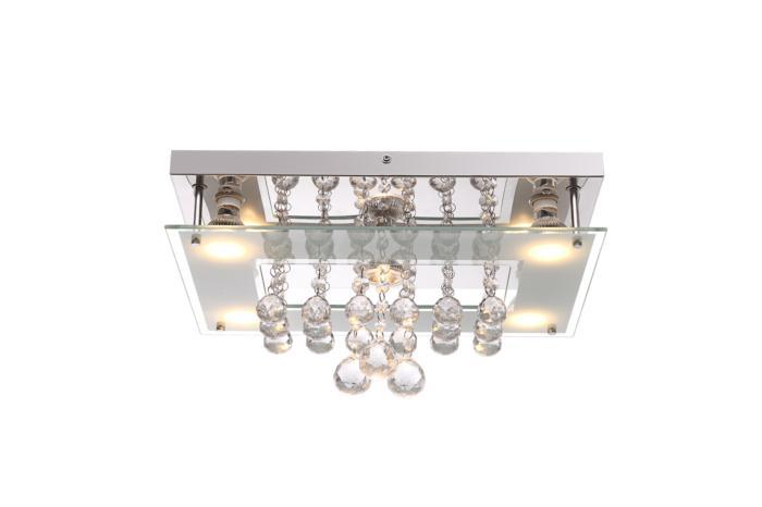 Потолочный светильник Globo New 41728-5, серый металлик цена