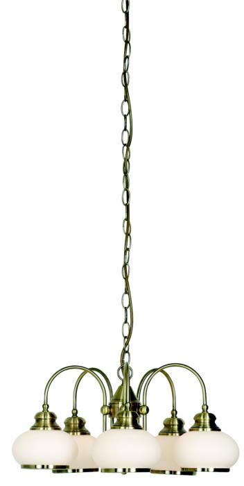 Подвесной светильник Globo New 6900-5, E14, 40 Вт