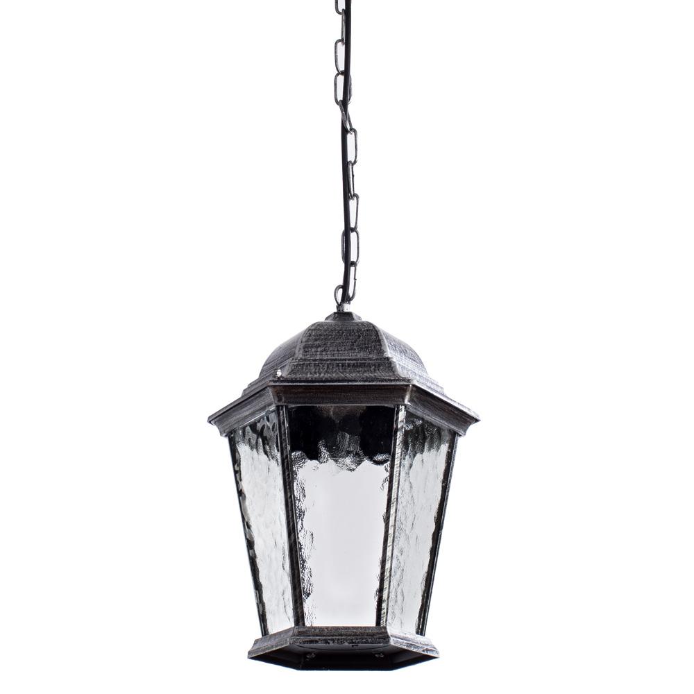 Уличный светильник Arte Lamp A1205SO-1BS, черный светильник уличный arte lamp genova a1205so 1bn