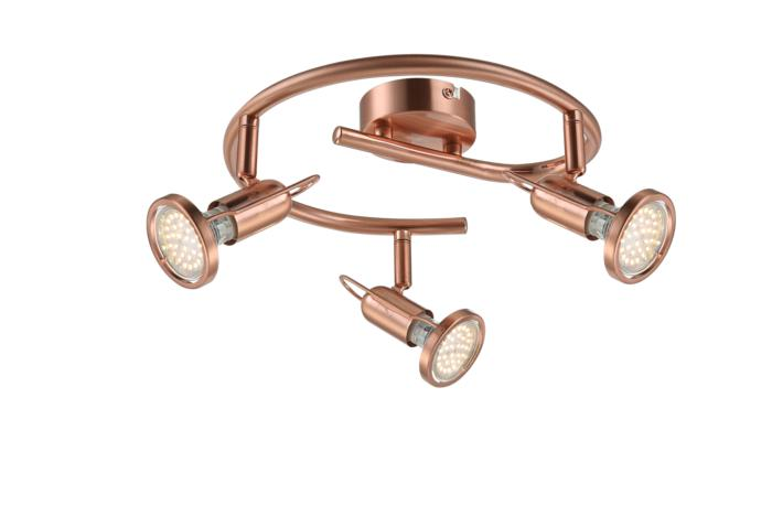Настенно-потолочный светильник Globo New 54383-3, LED, 3 Вт globo 54383 3