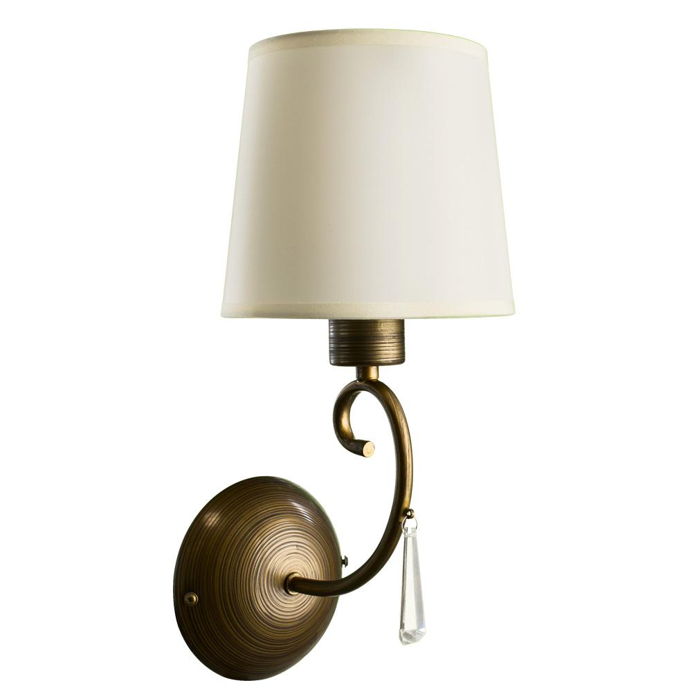 Бра Arte Lamp A9239AP-1BR, коричневый
