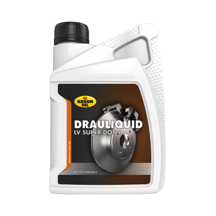 Тормозная жидкость Kroon-Oil DRAULIQUID-LV SUPER DOT 4 dot