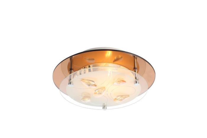 купить Настенно-потолочный светильник Globo New 40413, серый металлик онлайн