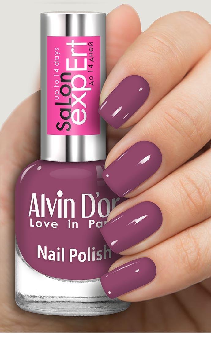 Лак для ногтей Alvin Dor SaLon expErt Сирень226-ADN-3307Профессиональная линейка лаков для ногтей! *Глянцевый блеск *Плотная текстура *Стойкость до 14 дней