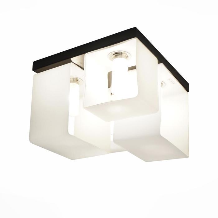 Потолочный светильник ST Luce SL536.502.04, G9, 40 Вт потолочная люстра st luce concreto sl536 092 09