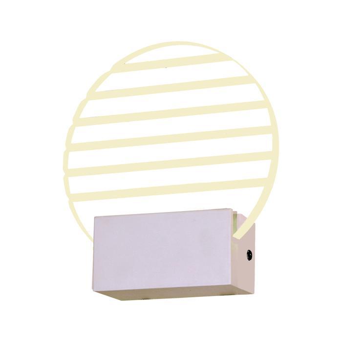 Бра ST Luce SL580.001.01, LED, 6 Вт бра st luce sl581 011 01 led 6 вт