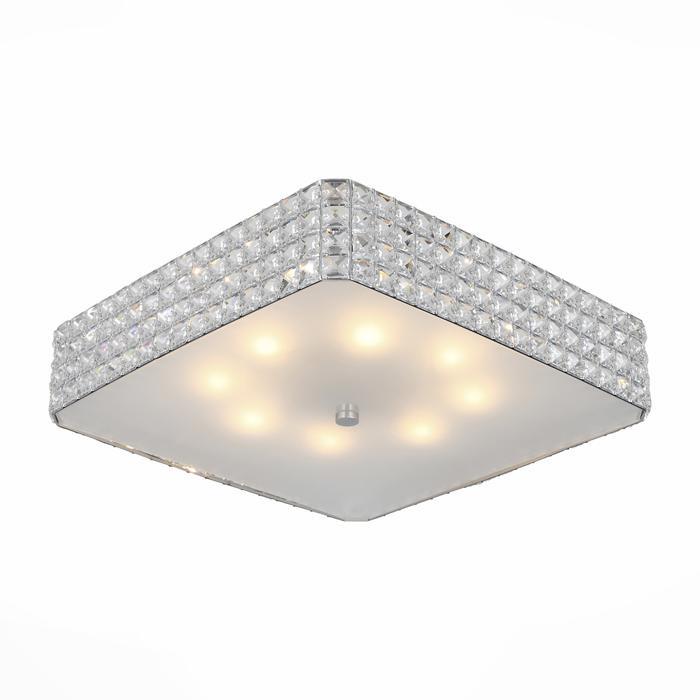Потолочный светильник St Luce SL751.102.08, серый металлик