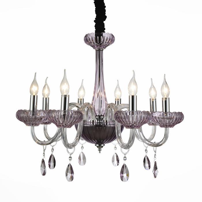 Подвесной светильник St Luce SL653.603.08, серый металлик цена