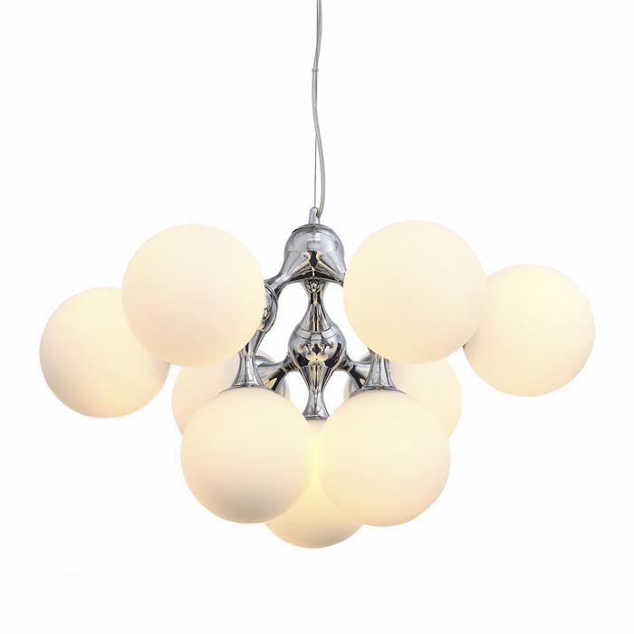 цена на Подвесной светильник St Luce SL549.103.09, серый металлик