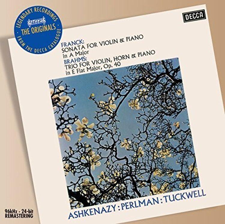лучшая цена Vladimir Ashkenazy. Brahms: Trio For Violin, Horn & Piano, Franck: Violin Sonata
