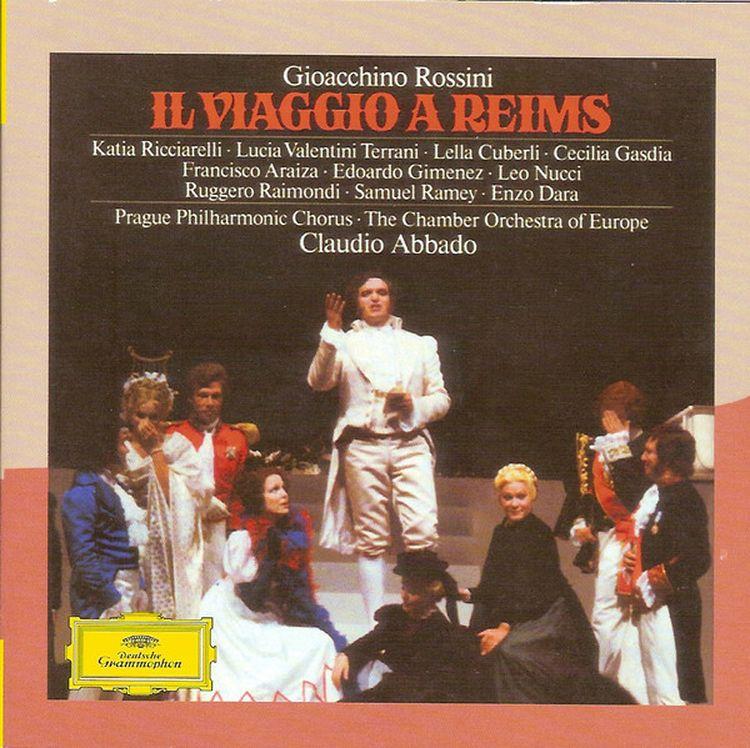 Claudio Abbado. Il Viaggio A Reims (2CD) gioacchino rossini claudio abbado il barbiere di siviglia