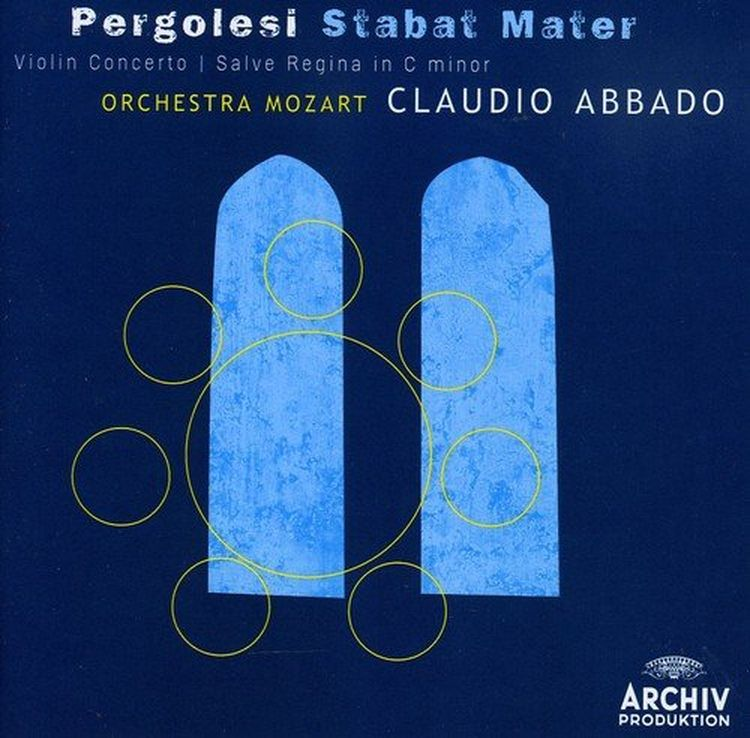 Claudio Abbado. Pergolesi: Stabat Mater j kocięda stabat mater