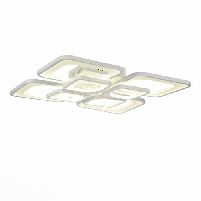 Потолочный светильник St Luce SL907.502.08, белый светильник st luce enigma sl258 443 01
