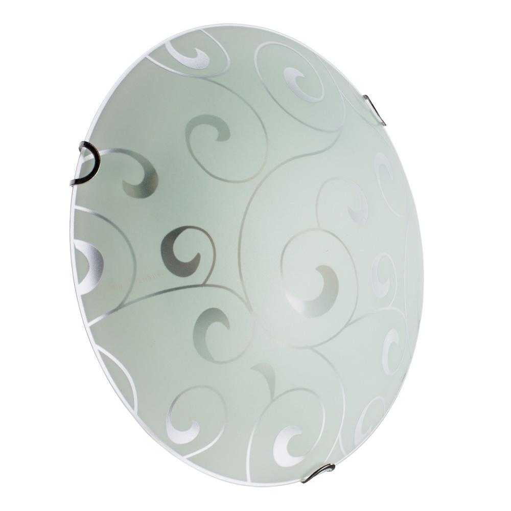 Настенно-потолочный светильник Arte Lamp A3320PL-2CC, серый металлик arte lamp настенно потолочный светильник arte lamp ornament a3320pl 3cc