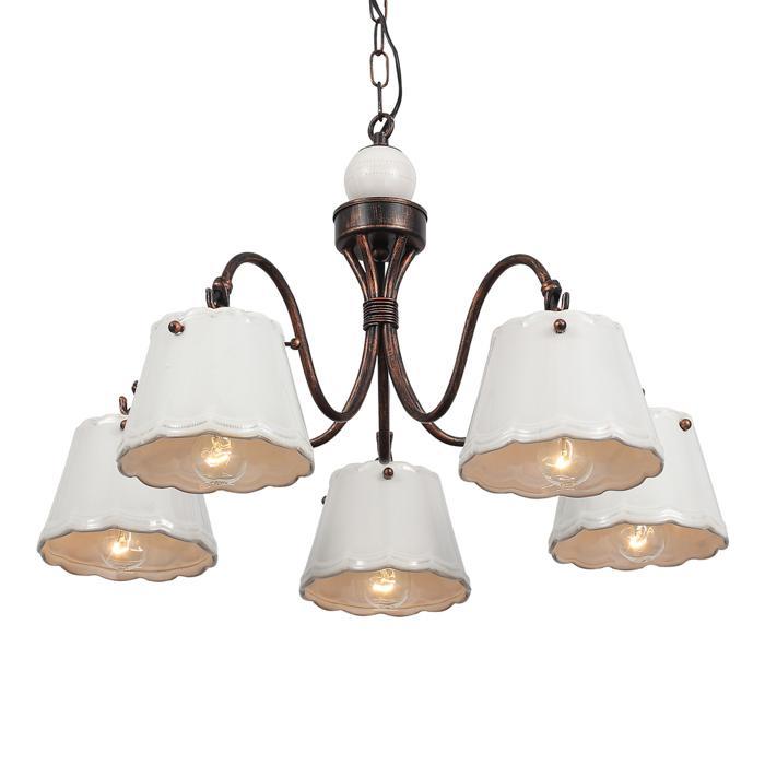 Подвесной светильник St Luce SL259.503.05, белый люстра st luce famiglia sl259 503 05 подвесная