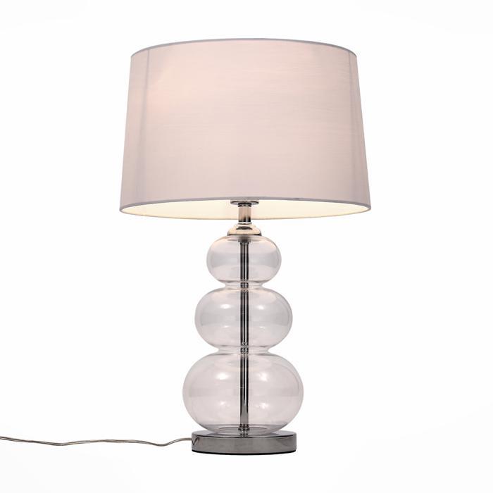 Настольный светильник St Luce SL970.104.01, прозрачный лампа настольная декоративная st luce кsl971 524 01 хром прозрачный коричневый бежевый