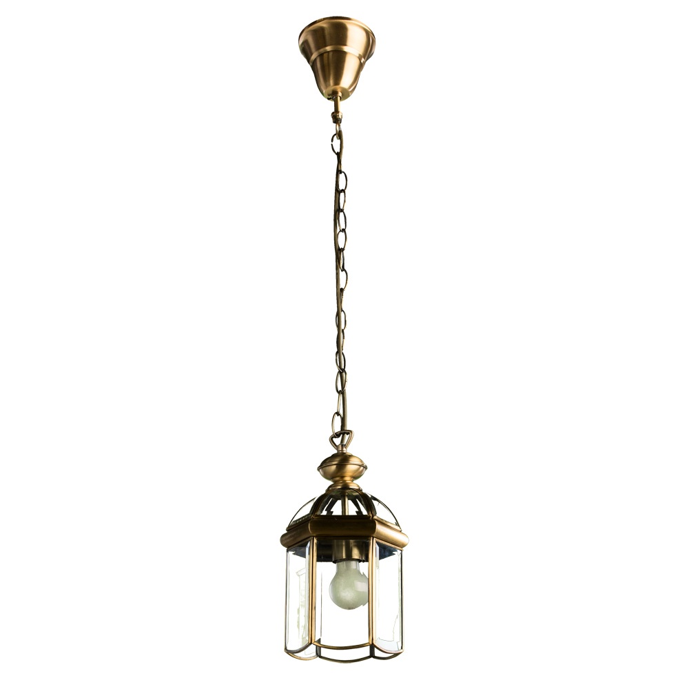 Подвесной светильник Arte Lamp A6501SP-1AB, бронза
