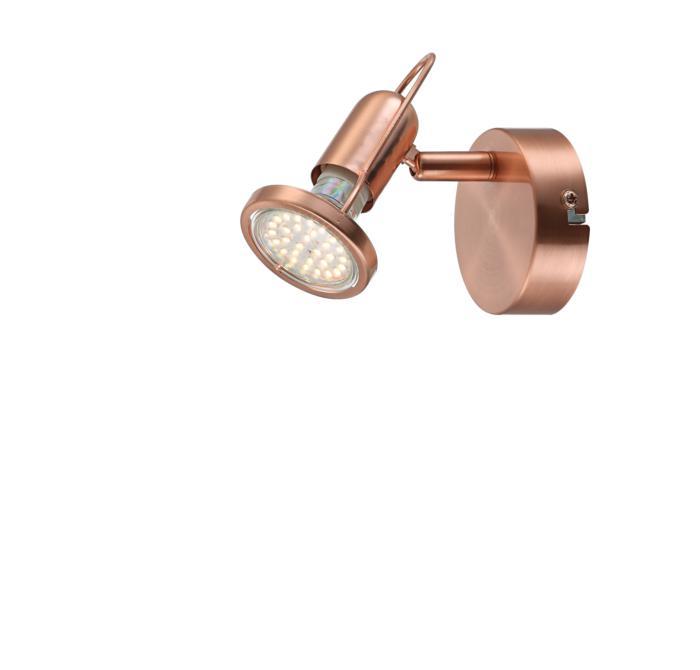 Настенно-потолочный светильник Globo New 54383-1, LED, 3 Вт globo 54383 3