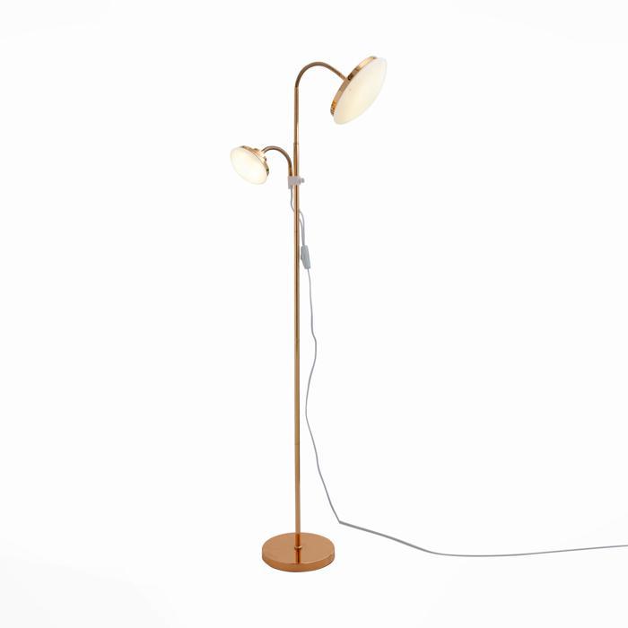 Напольный светильник St Luce SLE120.205.02, золотой торшер st luce pratico sle120 405 02