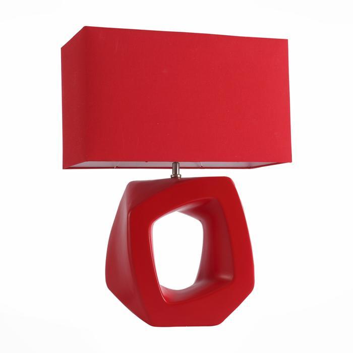 Настольный светильник St Luce SL997.604.01, красный