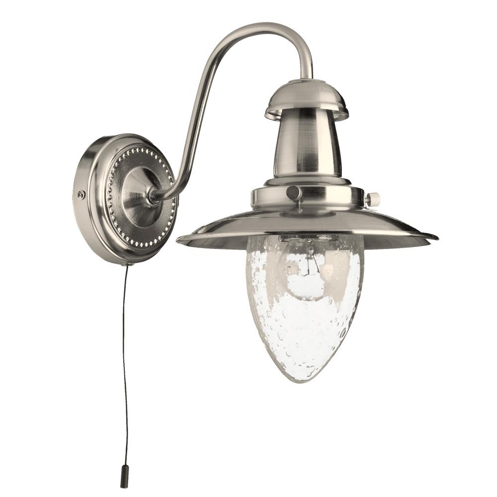 Бра Arte Lamp A5518AP-1SS, E27, 60 Вт