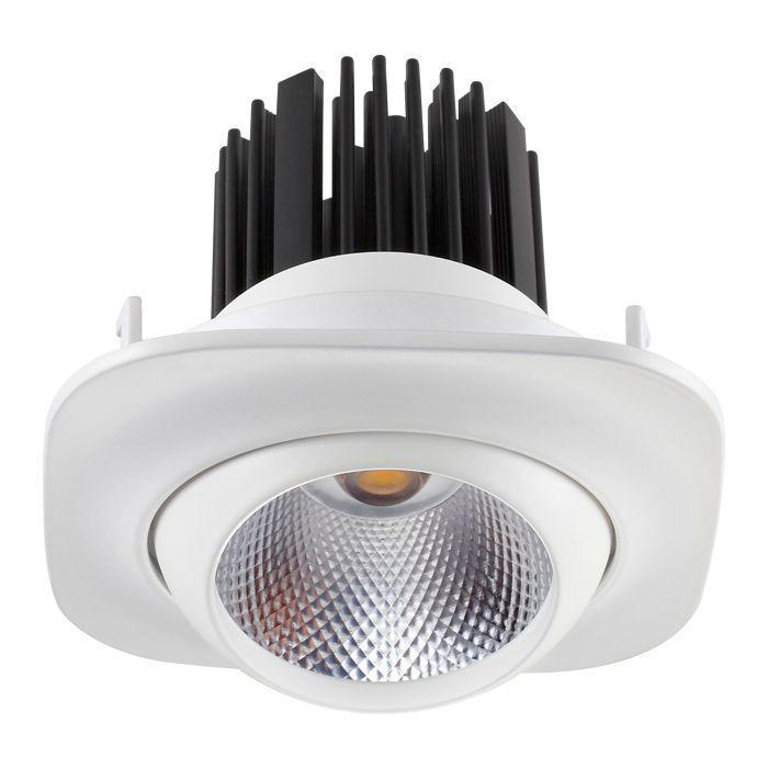 Встраиваемый светильник Novotech 357696, белый357696Встраиваемый светильник с одной лампой Novotech 357696 серии Drum в стиле модерн хорошо впишется в любой интерьер. Размеры (Диаметр х Высота) 90х90 мм.