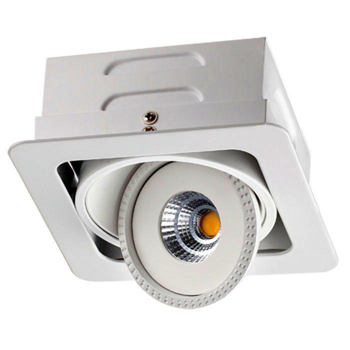 Встраиваемый светильник Novotech 357580, белый357580Встраиваемый светильник с одной лампой Novotech 357580 серии Gesso в стиле модерн хорошо впишется в любой интерьер. Размеры (ДхШхВ) 160х160х0 мм.