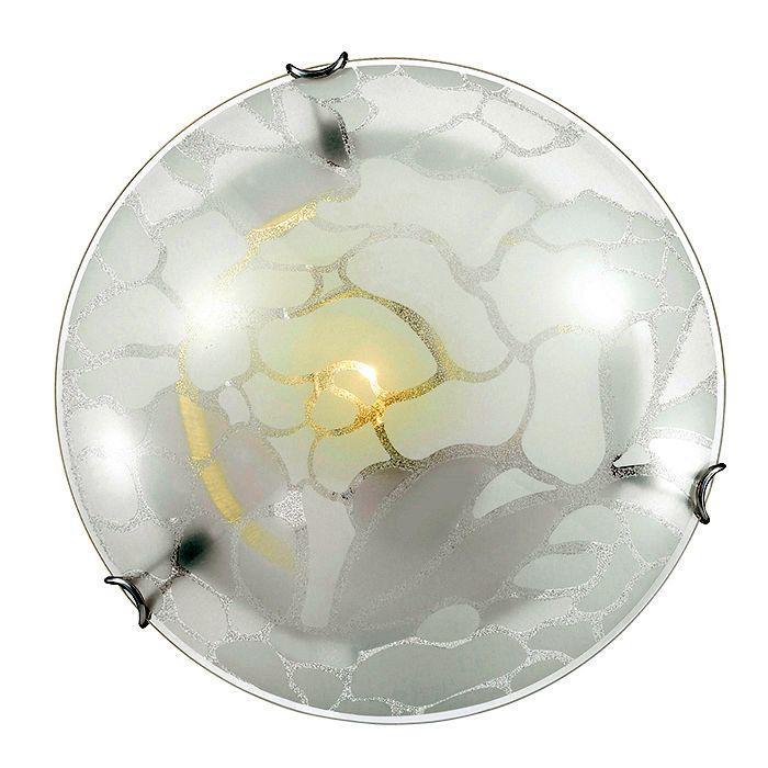 Настенно-потолочный светильник Sonex 140/K, серый металлик настенно потолочный светильник sonex traube 104 k