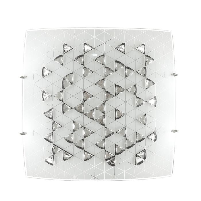 Настенно-потолочный светильник Sonex 2059/CL, серый металлик2059/CLТарелка Sonex 2059/CL серии Meza в стиле модерн освежит ваш интерьер. Размеры (ДхШхВ) 300х300х100 мм.
