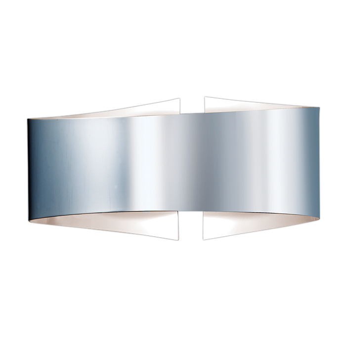 Настенный светильник Odeon Light 2734/1W, серый металлик настенно потолочный светильник odeon light 3628 1w серый металлик