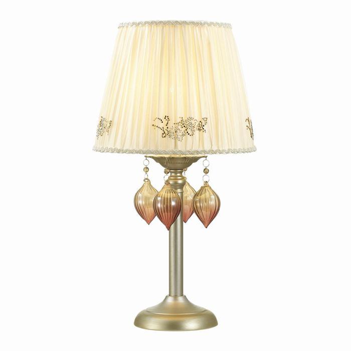Настольный светильник Odeon Light 3922/1T, прозрачный настольный светильник j light 1310 1t
