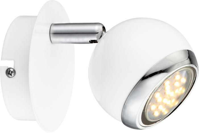 лучшая цена Настенно-потолочный светильник Globo New 57882-1, белый