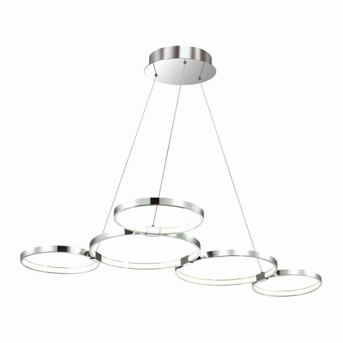 Подвесной светильник Odeon Light 4016/50L, белый4016/50LПодвесная люстра Odeon Light 4016/50L серии Olimpo в стиле модерн будет хорошим решением для квартиры. Размеры (ДхШхВ) 1050х770х1200 мм.